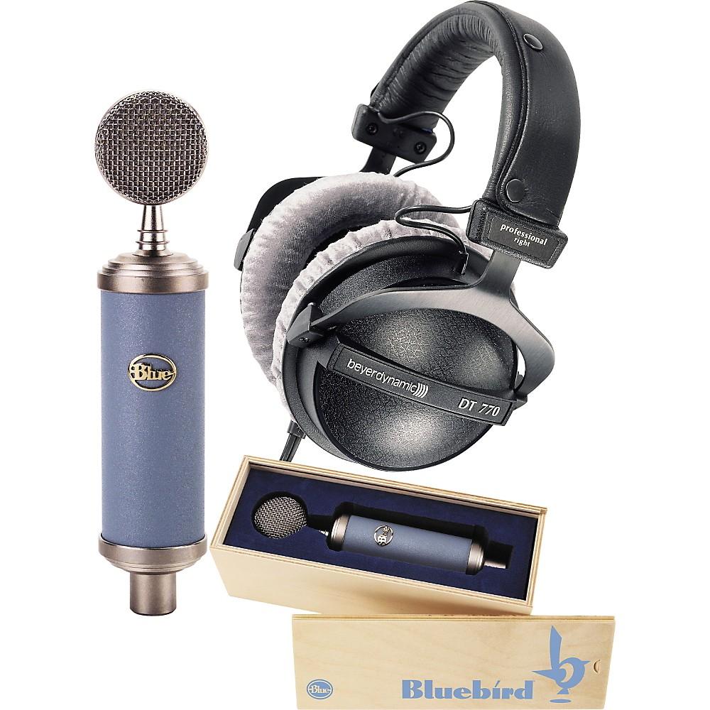 Blue Bluebird Mic & DT770 Headphone Pack