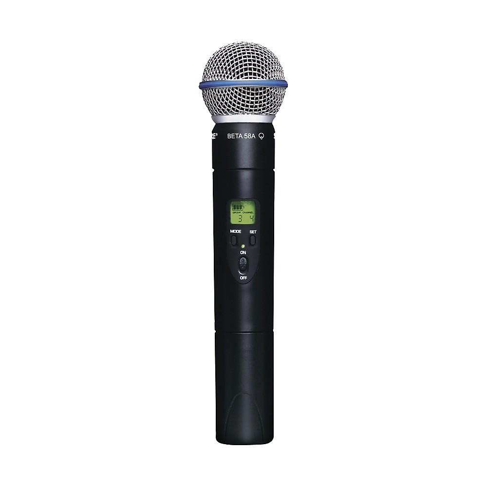 Handheld Wireless Microphone Transmitter : shure ulx2 beta58 wireless handheld transmitter microphone j1 042406080545 ebay ~ Hamham.info Haus und Dekorationen