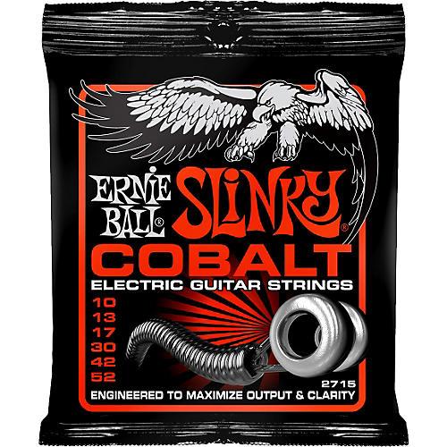 Ernie Ball 2715 Cobalt Skinny Top Heavy Bottom Electric Guitar Strings-thumbnail
