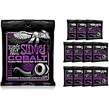 Ernie Ball 2720 Cobalt Power Slinky Electric Guitar Strings - Buy 10, Get 2 FREE