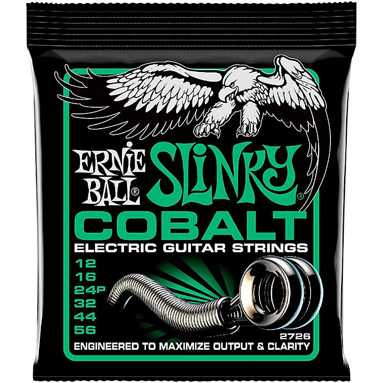 Ernie Ball 2726 Cobalt Not Even Slinky Electric Guitar Strings