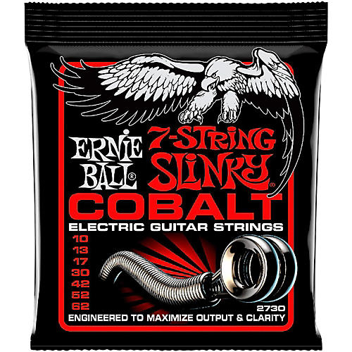 Ernie Ball 2730 Cobalt 7-String Skinny Top Heavy Bottom Electric Guitar Strings-thumbnail