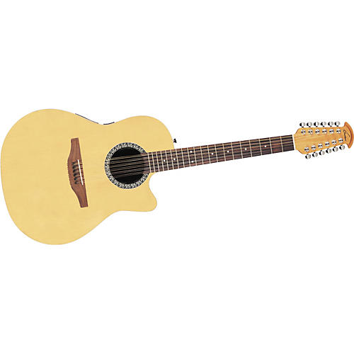 Ovation 2751LX Standard Balladeer Contour 12-String Acoustic-Electric Guitar