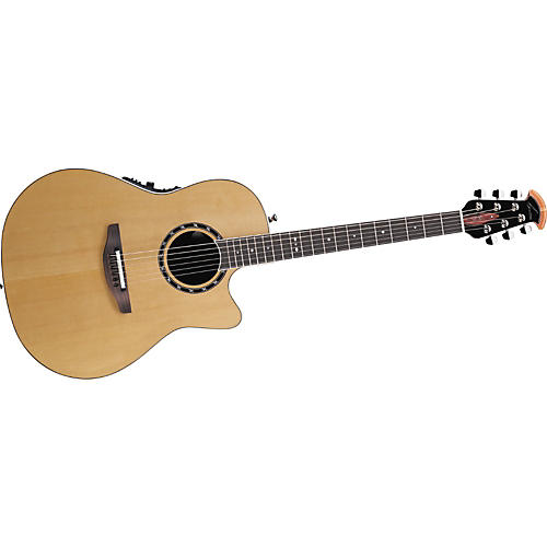 Ovation 2771LX Standard Balladeer Contour Acoustic-Electric Guitar-thumbnail