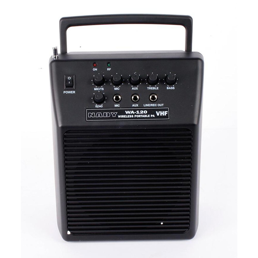 Used Nady Wa 120 Portable Pa System With Wireless Omni-Lavalier Mic Channel A 888365032405