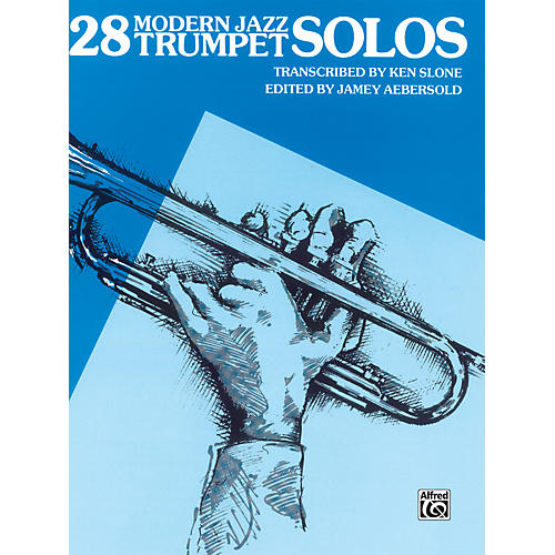 Alfred 28 Modern Jazz Trumpet Solos Book-thumbnail