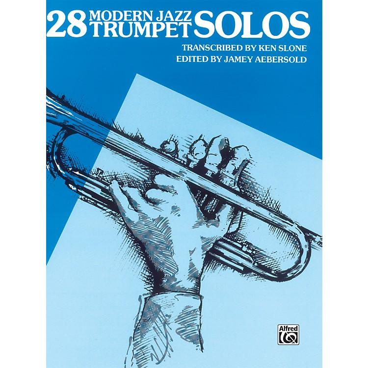 Alfred28 Modern Jazz Trumpet Solos Book