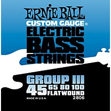 Ernie Ball 2806 Flat Wound Group III Electric Bass Strings