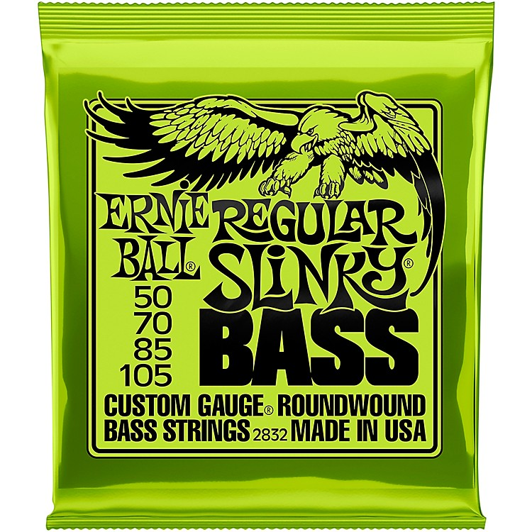 Ernie Ball 2832 Regular Slinky Round Wound Bass Strings