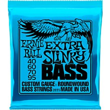 Ernie Ball 2835 Extra Slinky Round Wound Bass Strings