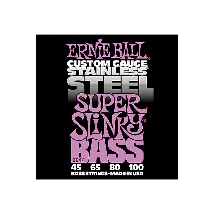 Ernie Ball2844 Super Slinky Stainless Steel Bass Strings