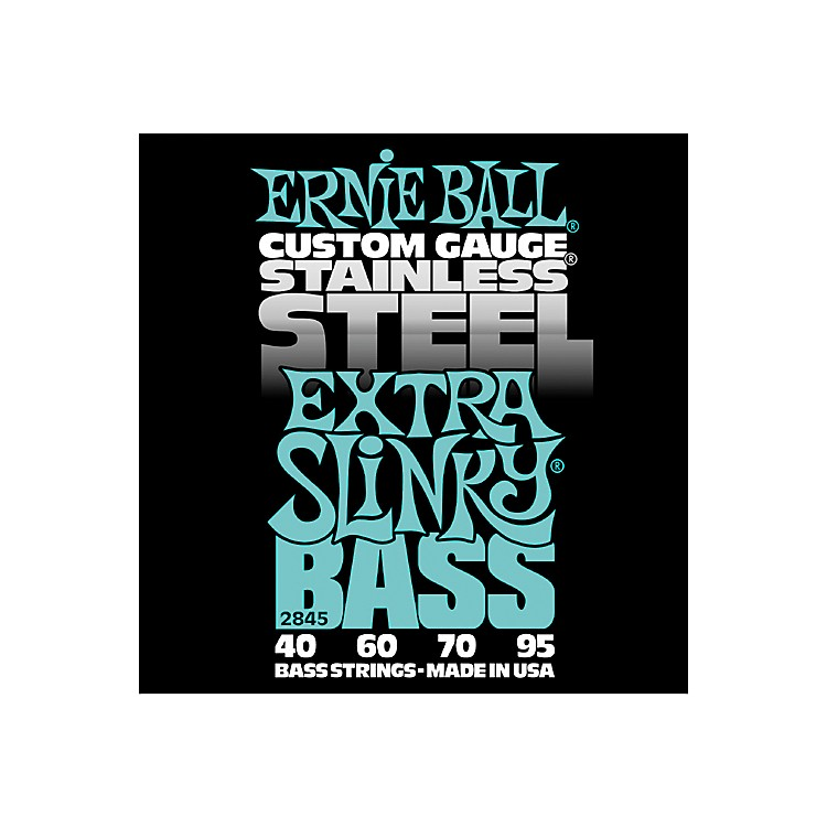 Ernie Ball 2845 Extra Slinky Stainless Steel Bass Strings