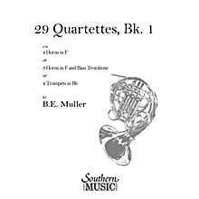 Southern 29 Quartets, Book 1 (Archive) (Horn Quartet) Southern Music Series Composed by Bernhard Eduard Muller