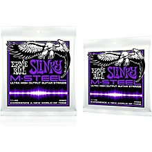 Ernie Ball 2920 M-Steel Power Slinky Electric Guitar Strings 2-Pack