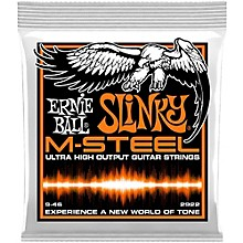Ernie Ball 2922 M-Steel Hybrid Slinky Electric Guitar Strings