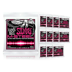 ernie ball 2923 m steel super slinky electric guitar strings buy 10 get 2 free musician 39 s. Black Bedroom Furniture Sets. Home Design Ideas