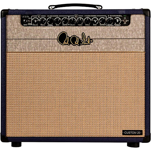 PRS 2CH Custom 20 Limited Edition Plum 20W 1x12 Tube Guitar Combo Amp-thumbnail