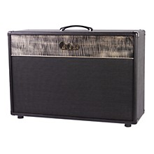 PRS 2x12 Pine Guitar Cabinet Stealth Tolex Charcoal Grill