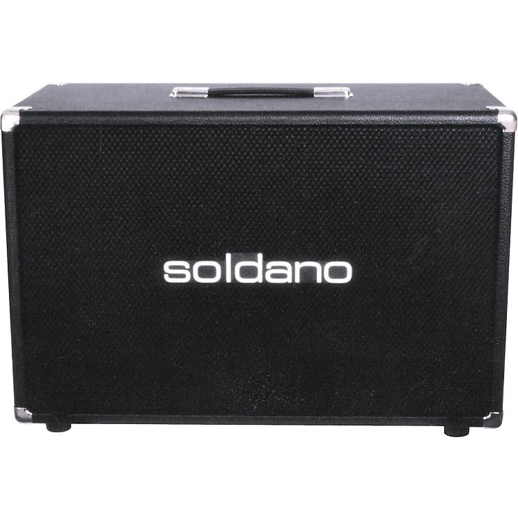 Soldano2x12 Speaker CabinetBlack