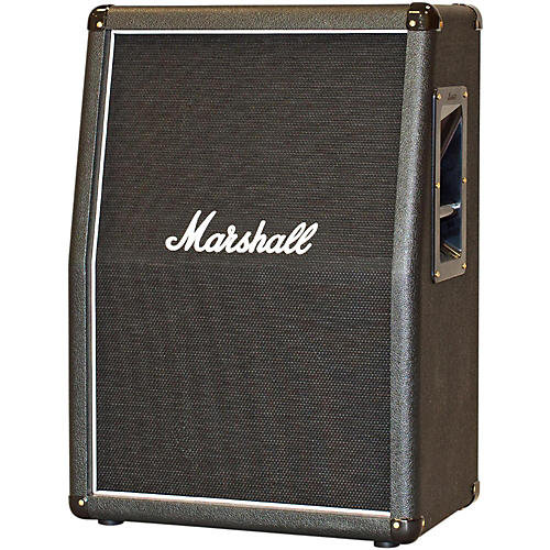 Marshall 2x12 Vertical Slant Guitar Cabinet Black | Musician's Friend