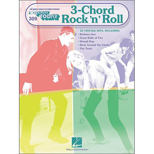 Hal Leonard 3-Chord Rock 'N' Roll E-Z play 309-thumbnail