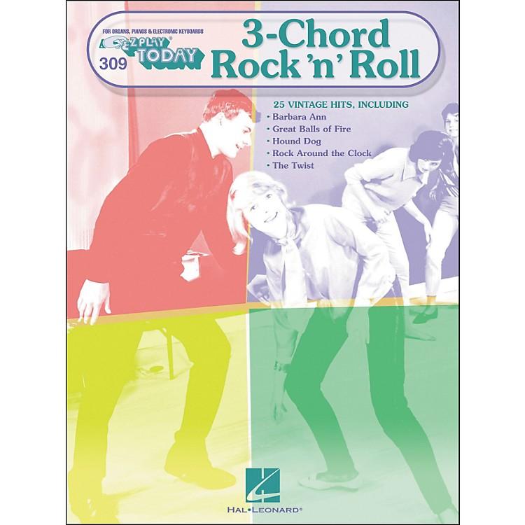 Hal Leonard3-Chord Rock 'N' Roll E-Z play 309