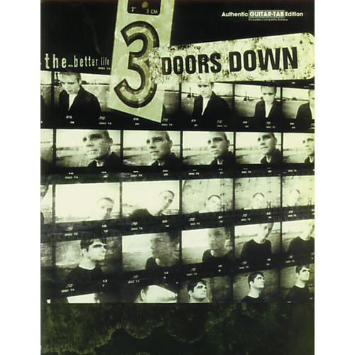 Hal Leonard 3 Doors Down The Better Life Guitar Tab Book-thumbnail