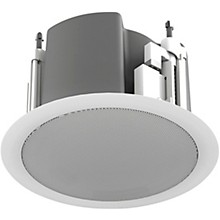 "Atlas Sound 3"" Full-Range In-ceiling Loudspeaker with 70.7/100V-16W Transformer/8ohm Bypass"