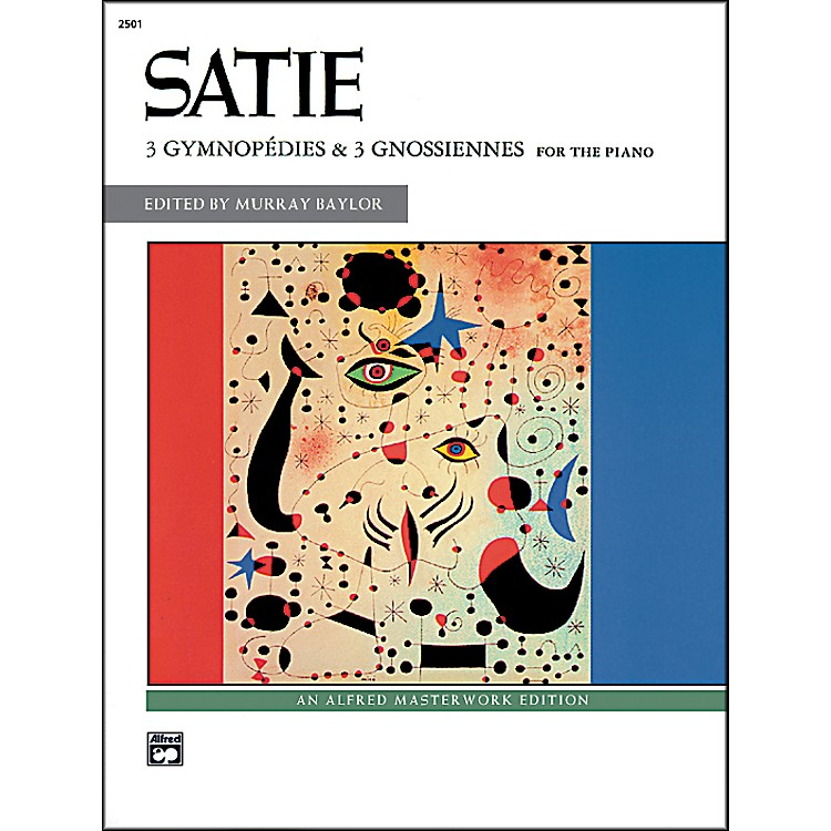 Alfred3 Gymnopédies & 3 Gnossiennes Book