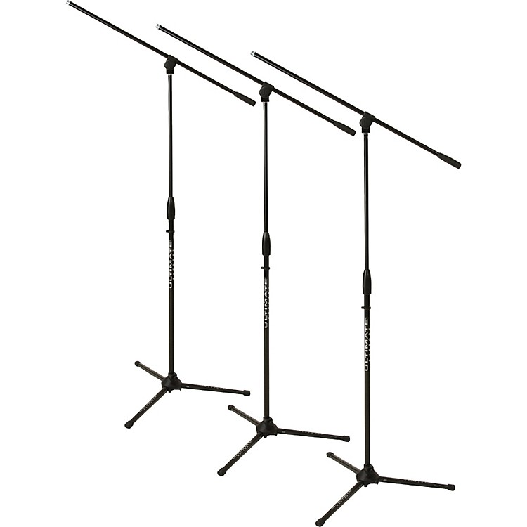Ultimate Support 3-Pack MC-40 Mic Stand & Boom Black