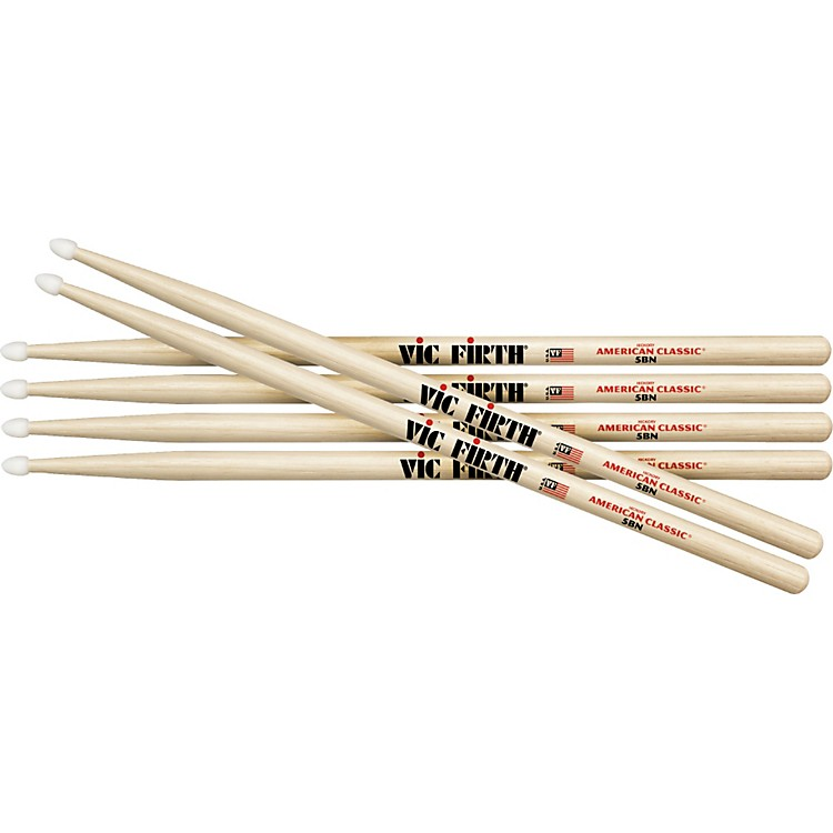 Vic Firth3-Pair American Classic Hickory DrumsticksWood7A