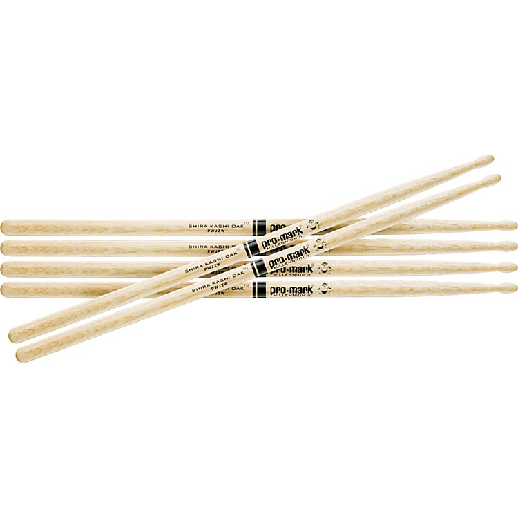 PROMARK 3-Pair Japanese White Oak Drumsticks Nylon 747BN