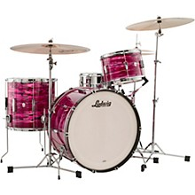 Ludwig 3-Piece Club Date Pro Beat Outfit with 24 in. Bass Drum Ruby Strata