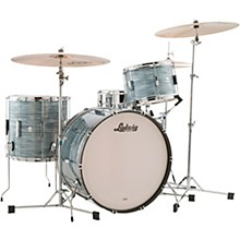 Ludwig 3-Piece Club Date Pro Beat Outfit with 24 in. Bass Drum Vintage Blue Oyster