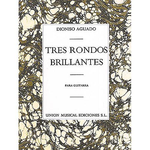 Union Musicale 3 Rondos Brillantes Music Sales America Series-thumbnail