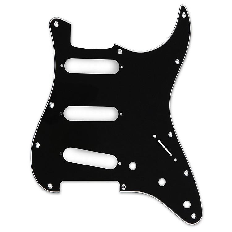 Musician's Gear3 Single-Coil PickguardBlack