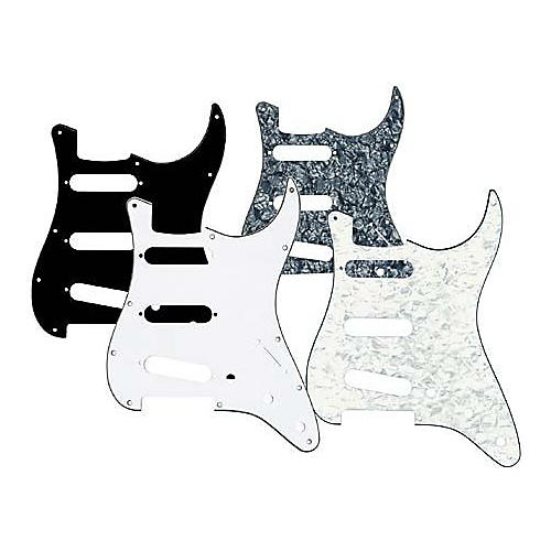 Musician's Gear 3 Single-Coil Pickguard Black