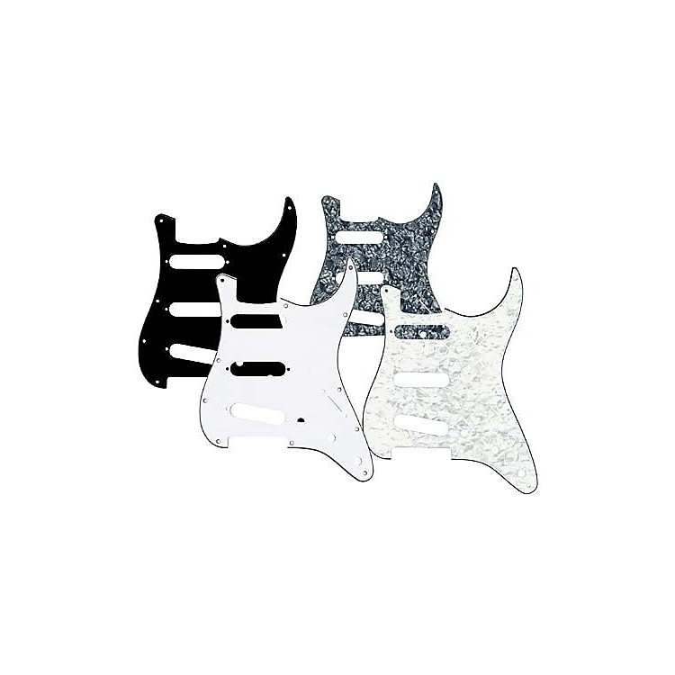 Musician's Gear3 Single-Coil PickguardBlack Pearloid