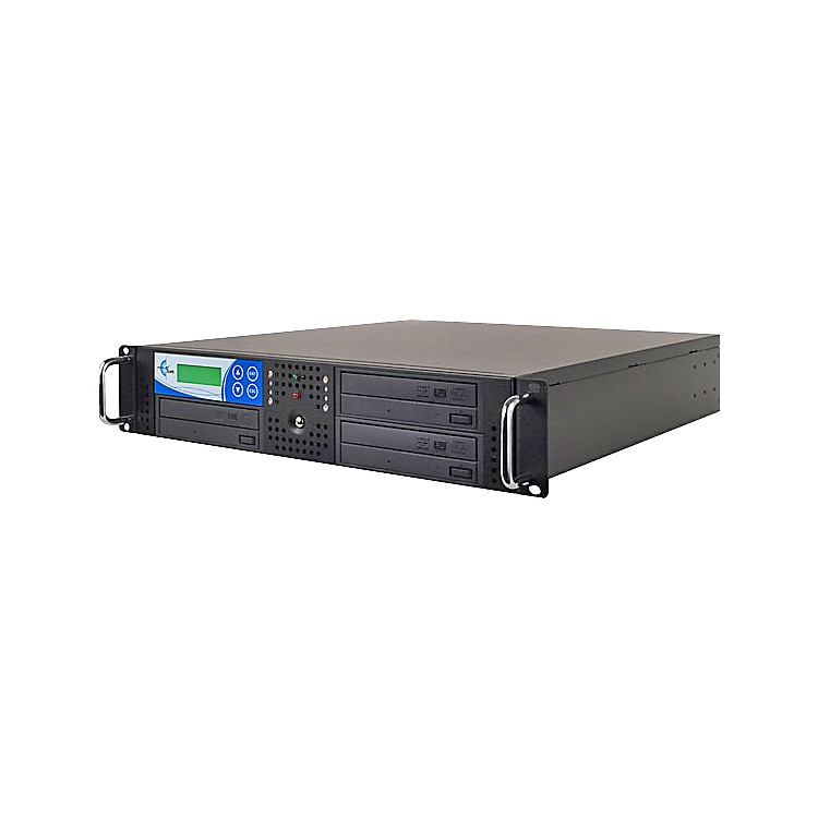 EZ Dupe 3 Target Rack DVD and CD Rack Mount Duplication System
