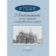 Editio Musica Budapest 3 Trattenimenti EMB Series Composed by Angelo Maria Fiorè