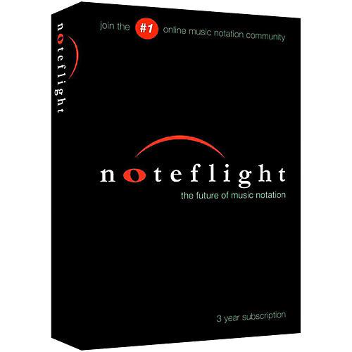 Noteflight 3-Year Subscription-thumbnail
