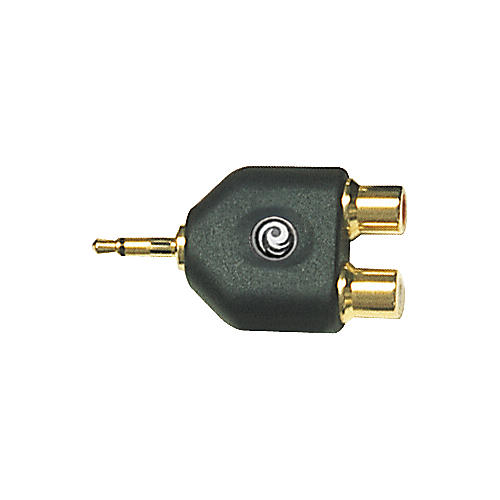 D'Addario Planet Waves 3.5MM Mono To Twin RCA Adapter-thumbnail