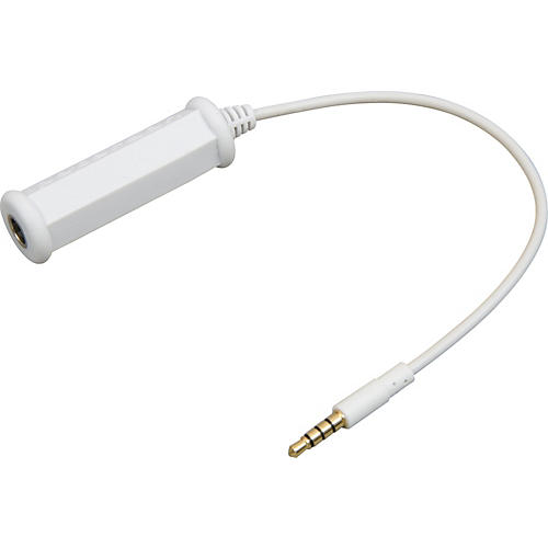 Peterson 3.5mm - 1/4in iPhone/iTouch Adapter Cable White