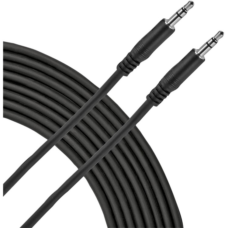 Live Wire 3.5mm TRS Patch Cable Black 5 Feet