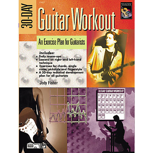 Alfred 30-Day Guitar Workout (Book with DVD)