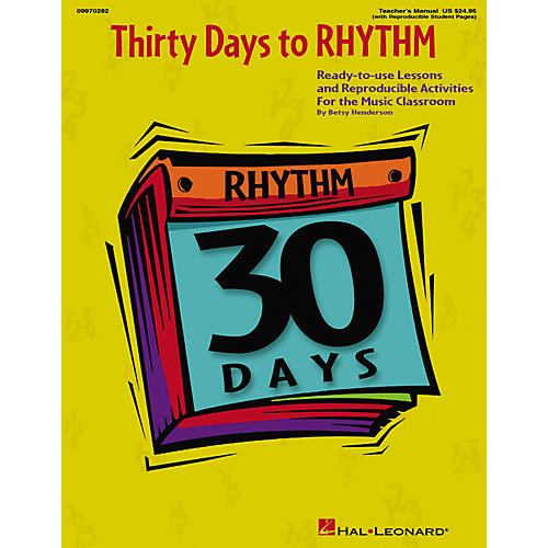 Hal Leonard 30 Days to Rhythm (Teacher Edition)-thumbnail