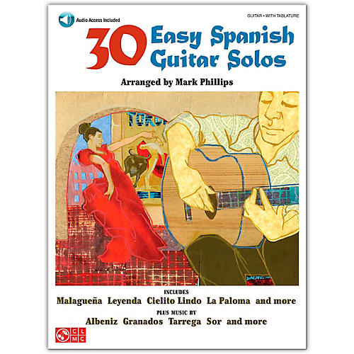 Cherry Lane 30 Easy Spanish Guitar Solos