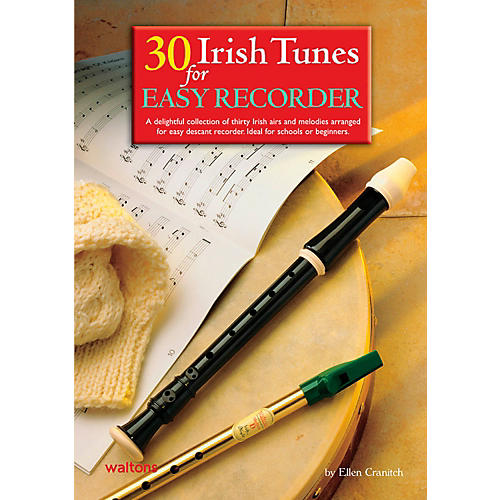 Waltons 30 Irish Tunes For Easy Recorder Book