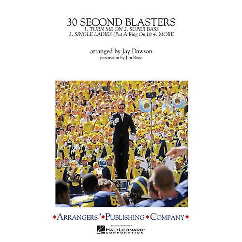 Arrangers 30-Second Blasters Marching Band Level 3 Arranged by Jay Dawson-thumbnail