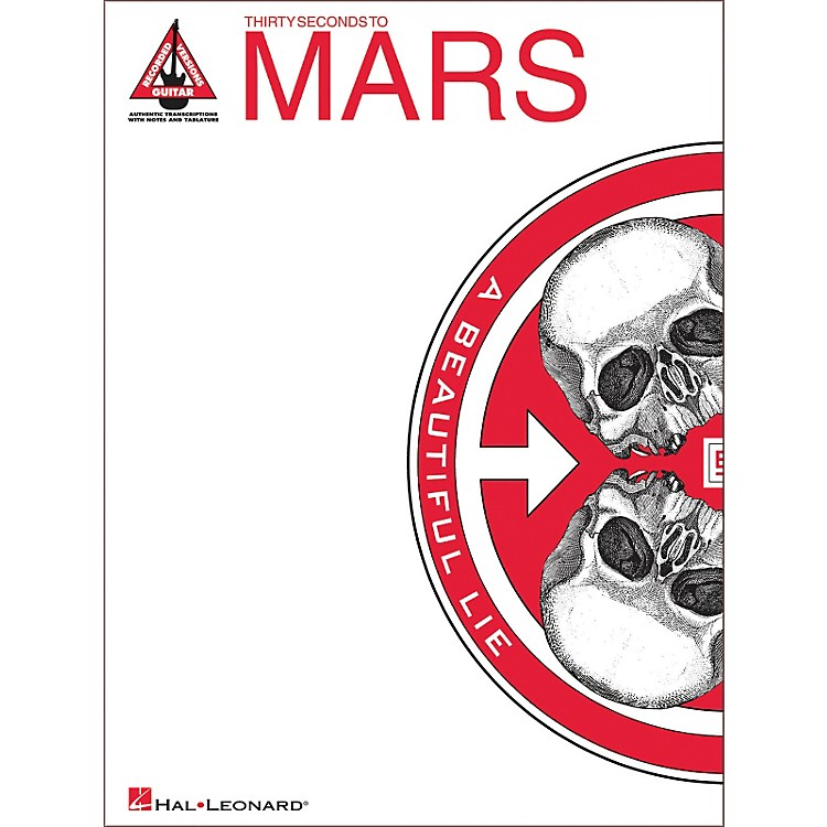 Hal Leonard 30 Seconds to Mars - A Beautiful Lie Guitar Tab Songbook